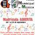 Abierto el plazo de matriculación de la Escuela Municipal de Música