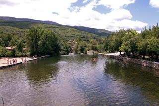 Piscinas naturales en el Valle del Jerte