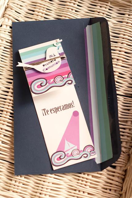 Invitación comunión by Fiesta y chocolate