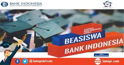 Pendaftaran Beasiswa GenBI Bank Indonesia