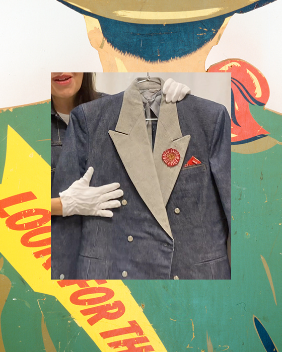 Authentic Levi's Archive of Clothing