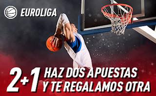 sportium promo Euroliga: 2+1 14-17 enero 2020