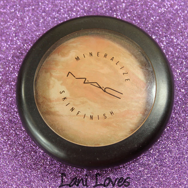 MAC Monday: Sugarsweet - Refined Mineralize Skinfinish Swatches & Review