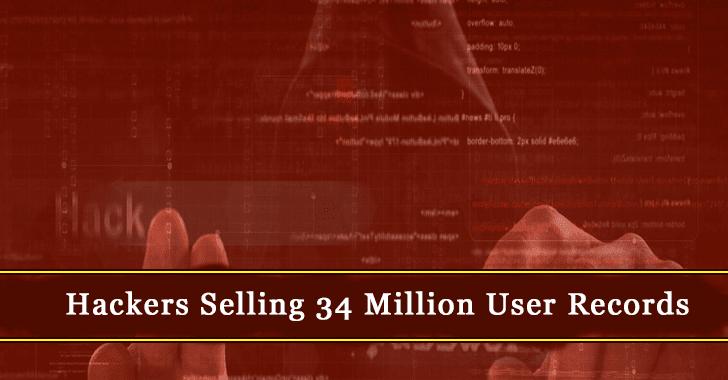 34 Million User Records