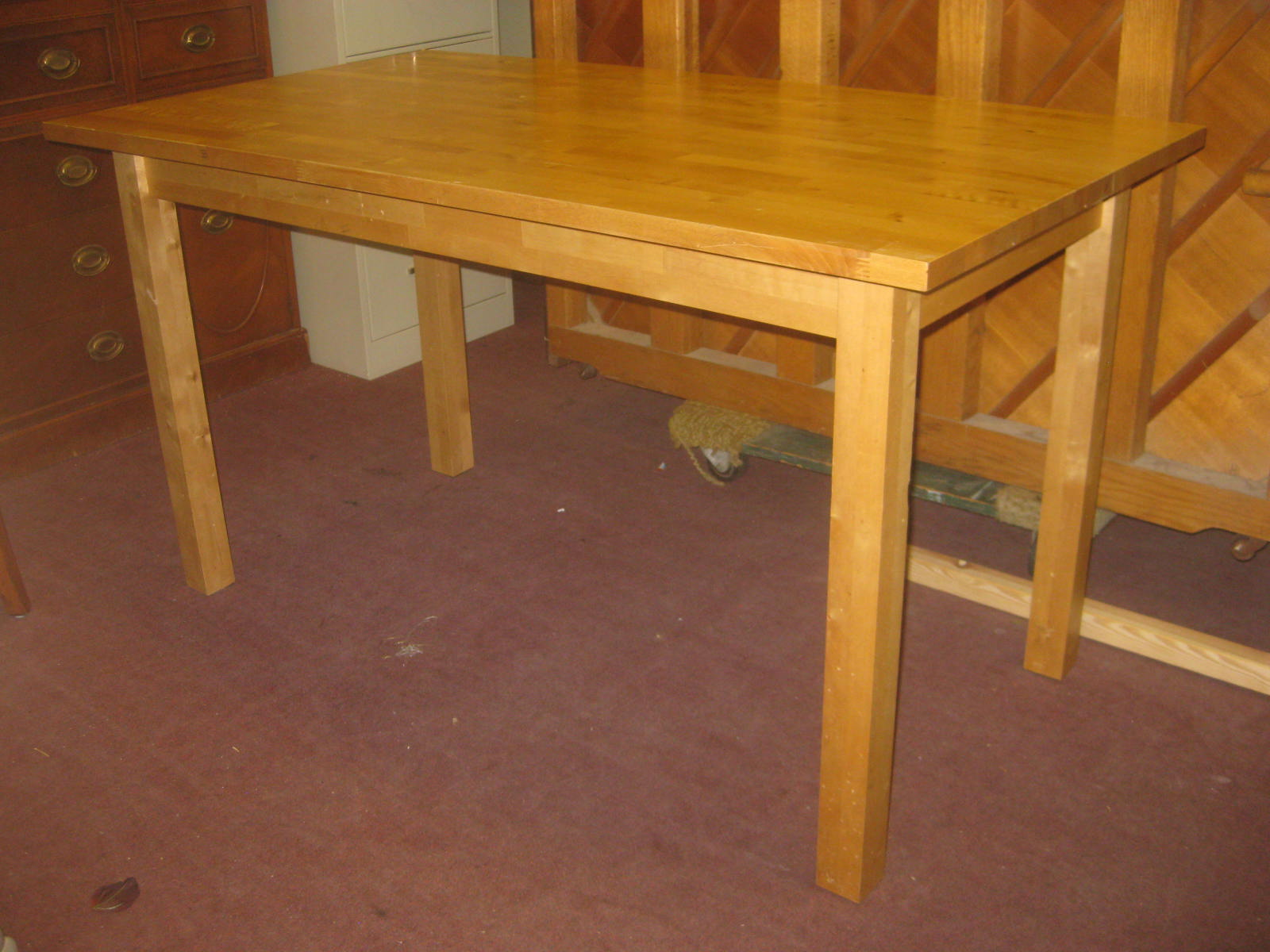 Buy Butcher Block Table Top: UHURU FURNITURE & COLLECTIBLES: SOLD