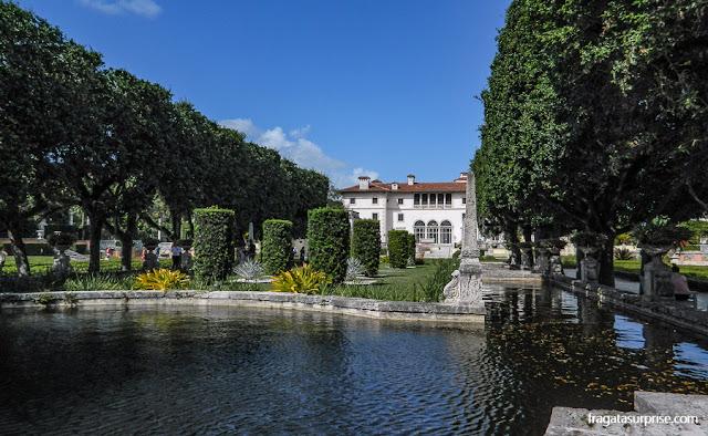 Jardins da Villa Vizcaya, Miami