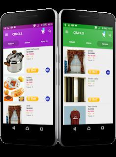 Aplikasi Toko Online Android Untuk Online Shop Anda
