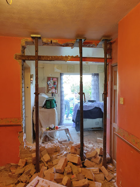 removing a load bearing wall