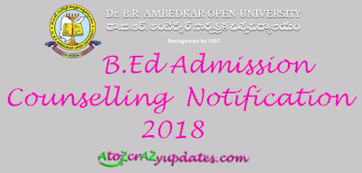 B-Ed-Admission-Counselling-2018-Notification