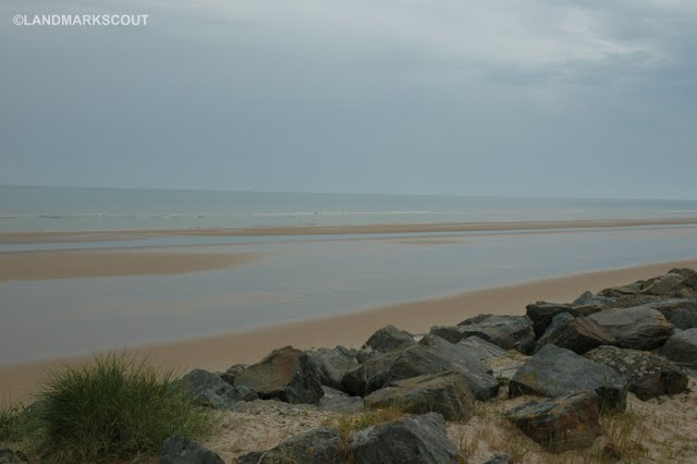 Omaha Beach at Vierville sur Mer, Normandy