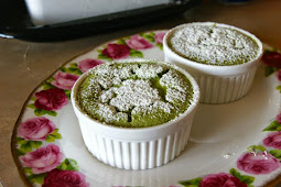 Resep Green Tea Souffle Roll Cake