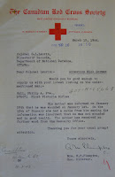 Letter from Red Cross