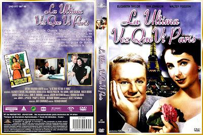Carátula dvd: La última vez que vi París