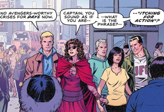 Avengers 3.1 Waid-Kitson