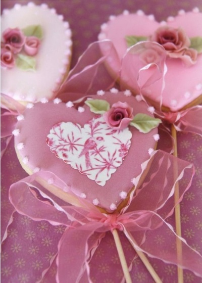 Victorian Love Cookies
