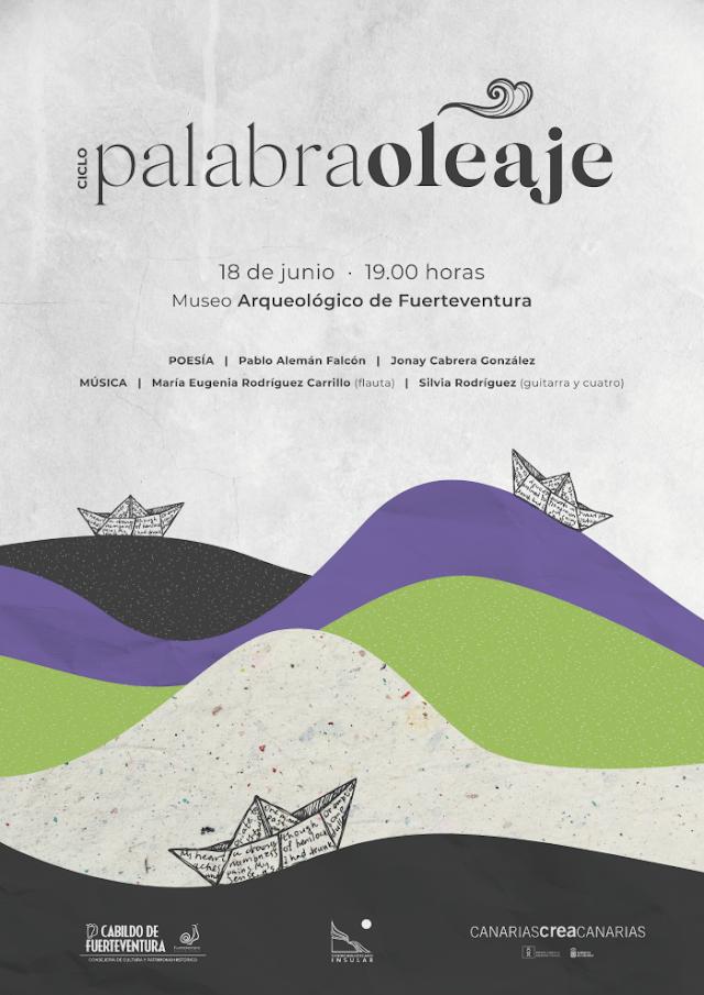 Fuerteventura.- El segundo recital del ciclo Palabra-oleaje llena Betancuria de música y poesía