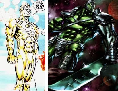 Superman y Hulk han sido heraldos de Galactus