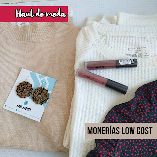 Haul de moda: Monerías low cost