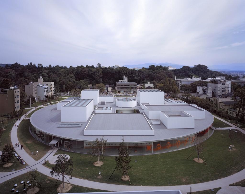 Cl sicos de la arquitectura 21st century museum of - Arquitectura de diseno ...