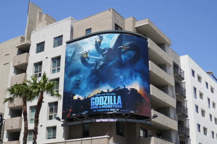 Godzilla King of Monsters billboard