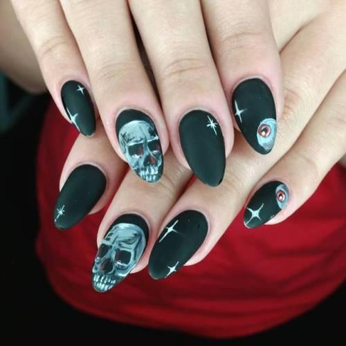 - Gothic Skull Nail Art Essentials
