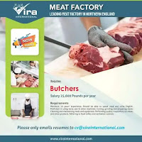 Butchers Reputed for Meat Factory England