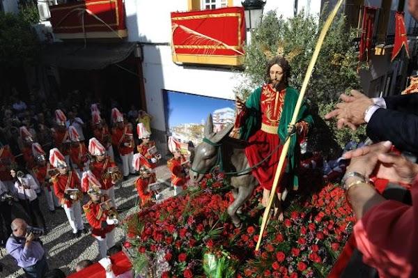 El Obispado autoriza una salida extraordinaria de La Pollinica de Marbella en octubre por su 50 aniversario