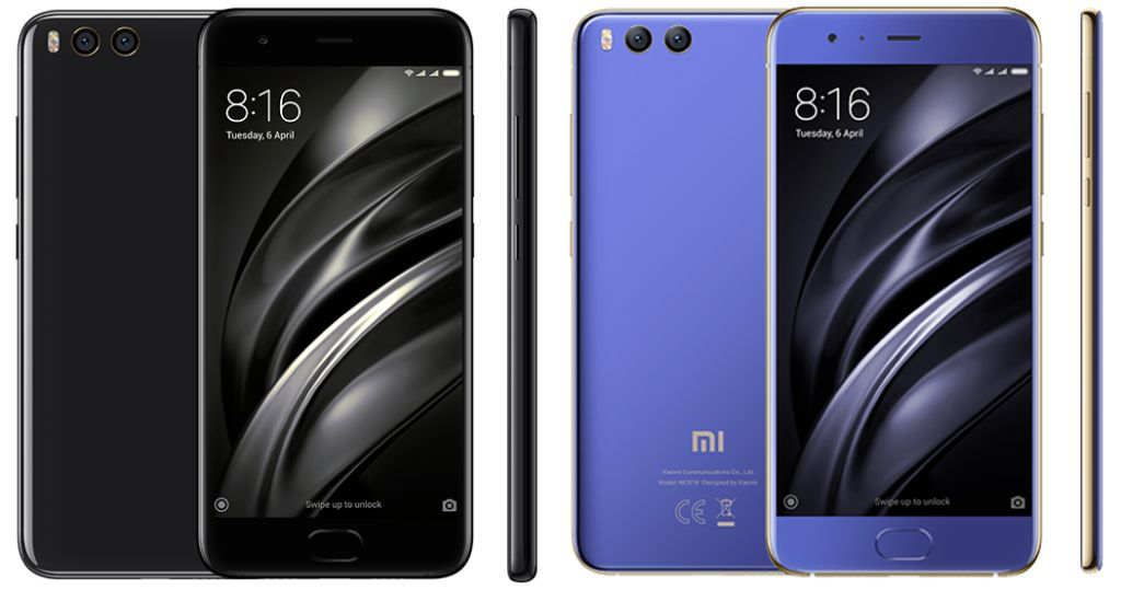 Xiaomi Mi 6 and Mi 6 Ceramic (2017) with Specifications and Prices