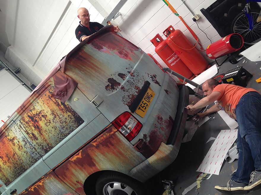 04-Clyde Wraps-Car-Vinyl-Wrap-with-the-Rust-Treatment-www-designstack-co