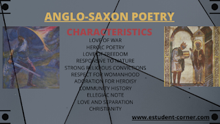 Anglo-saxon Poetry characteristics , features , notes