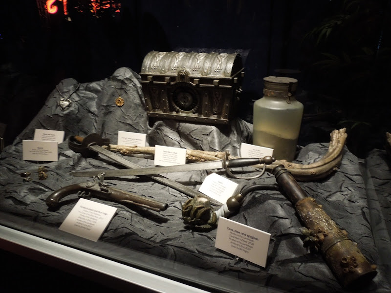 Pirates of Caribbean film props