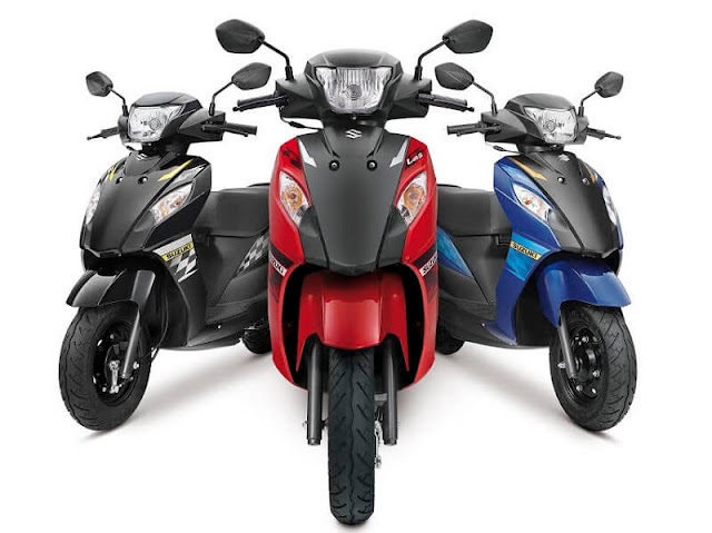 Suzuki Lets DUal tone colors