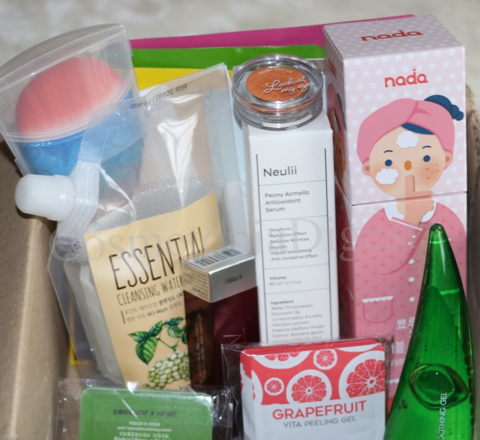 Contents, review, and unboxing of the Rose Secret Box Season 2, a Korean mystery beauty box that ships worldwide