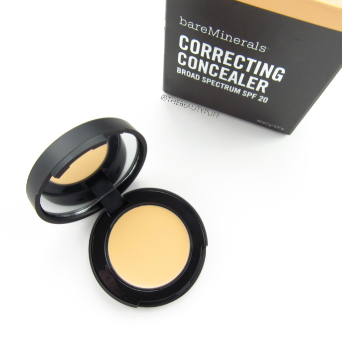bareminerals correcting concealer | the beauty puff