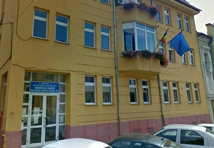 Inspectoratul Teritorial De unca Arad - ITM Arad
