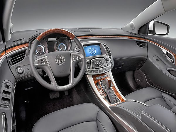 Sports Car Buick Lacrosse Interior Colors