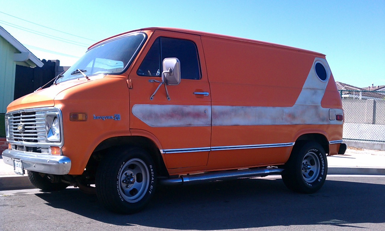 cycle zombies blog for sale 1976 chevy g10 survivor. Black Bedroom Furniture Sets. Home Design Ideas