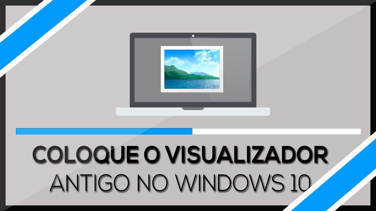 visualizador de imagens do windows 7