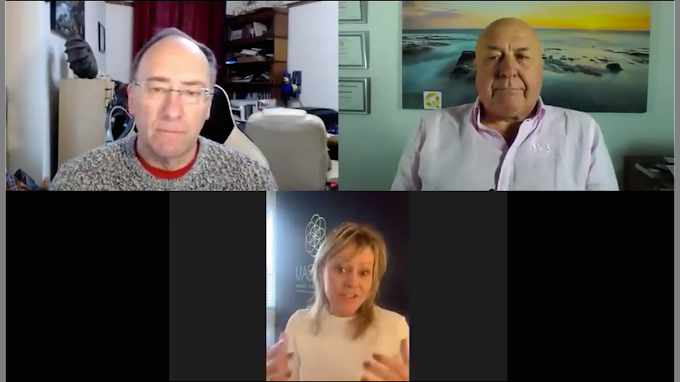 Simon Parkes, Charlie Ward & Danielle In Great Interview! - Must Video
