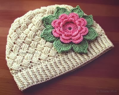 María Cielo Gorros Tejidos Al Crochet