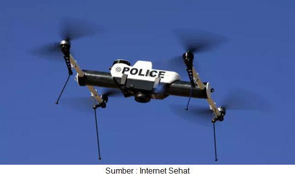 drone polisi