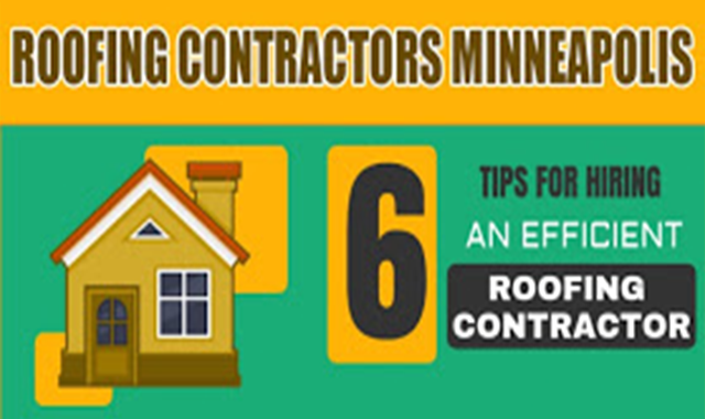 Roofing Contractors Minneapolis #infographic