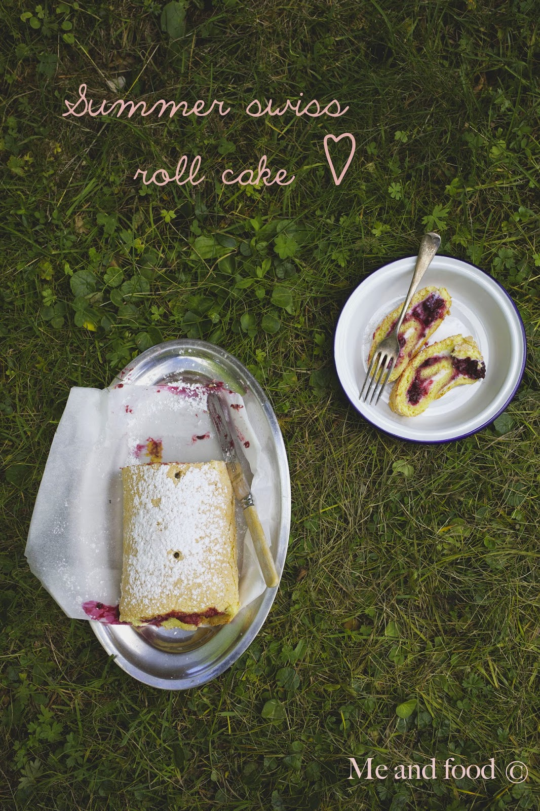 Me And Food Summer Swiss Roll Cake