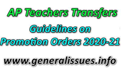 AP_teachers_transfers_Guidelines on promotion orders 2020-21