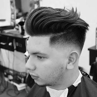 Model potongan rambut under cut