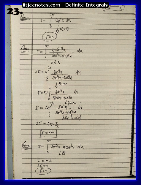 definite integrals notes2