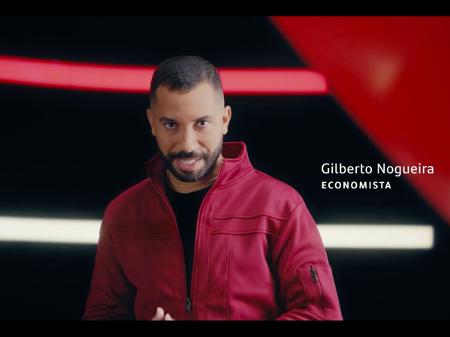 Gilberto Nogueira - Economista O Gil do Vigor No comercial do Santander