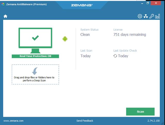 سارع: إليك برنامج Zemana AntiMalware اقوى برنامج لكشف الهكر في نسخته المدفوعة Premium مجانا