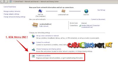 Pemecahan Masalah Internet di Windows