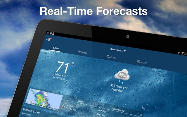 weather elite by weatherbug full apk